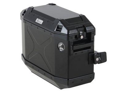 Hepco&Becker Xplorer zijkoffer black 30 liter links